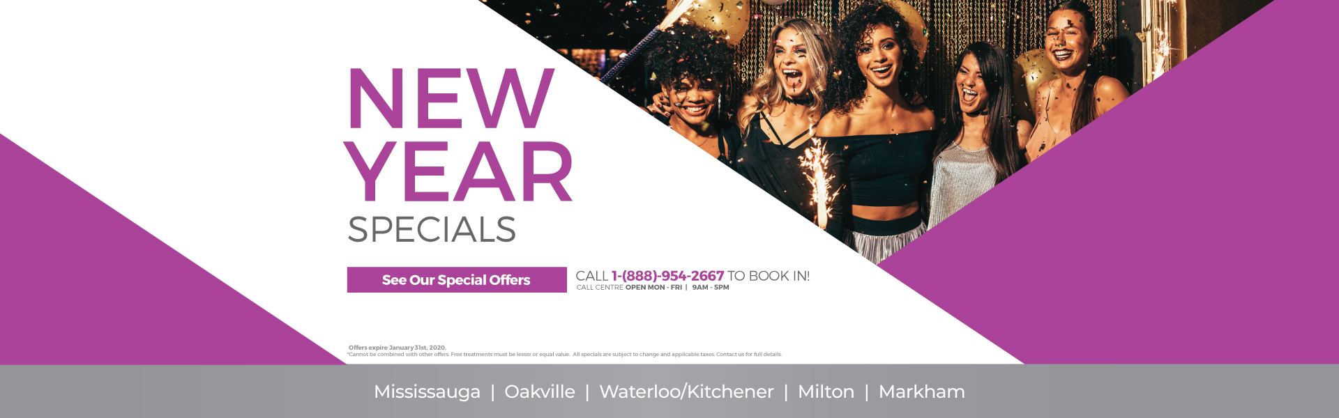 New Years Med Spa Specials